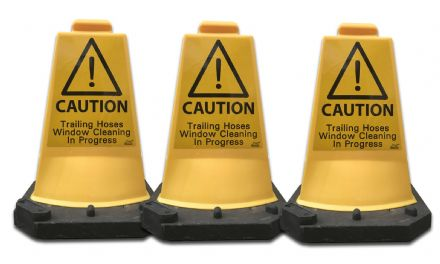 Caution Signs x3 Window Cleaning
